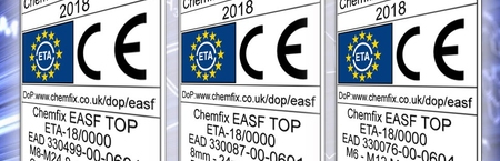 Full Approval Coverage for Chemfix EASF TOP Resin