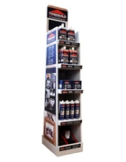 PRODUCT DISPLAY STAND & VIDEO